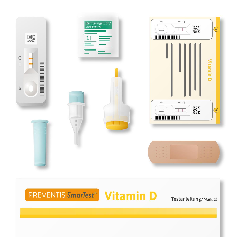 SmarTest® Vitamin D (Home) Doppelpack